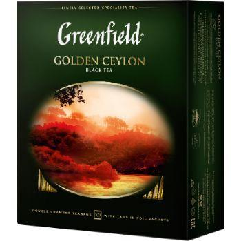 Tēja Greenfield melnā Golden Ceylon 200g