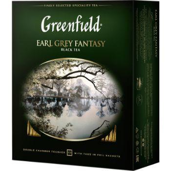 Tēja Greenfield melnā Earl Gray Fantasy 200g