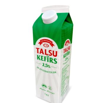 Kefīrs Talsu 2.5% tetra ar korķi 1l