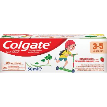 Zobu pasta Colgate Kids Pure 3-5 50ml