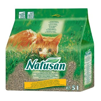 Smiltis kaķiem Natusan 5l