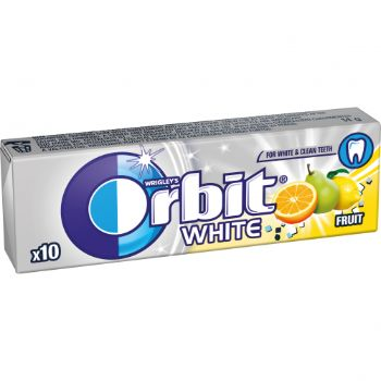 Košļ.gumija Orbit White fruit 14g