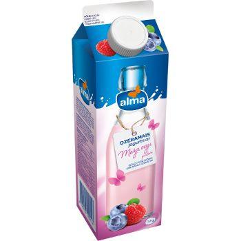 Jogurts dzeramais ar meža ogām Alma 900g