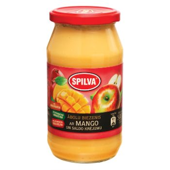 Biezenis ābolu ar mango un saldo krējumu  500g