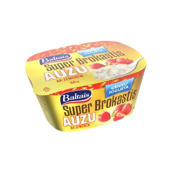 Super Brokastis Auzu ar zemenēm 160g