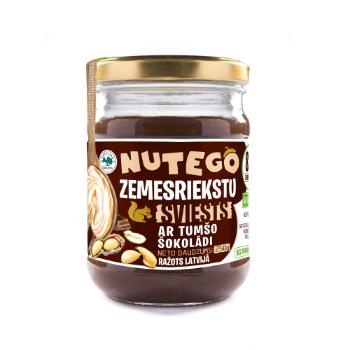Zemesriekstu sviests Nuteko ar tumšo šokolādi  250g