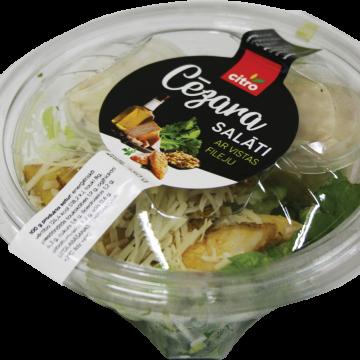 Salāti Cēzara ar vistas fileju 130g