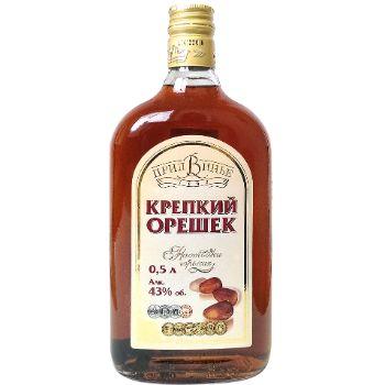 St.alk.dzēriens Krepkij Orešek 43% 0.5l