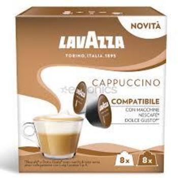 Kafijas kapsulas Lavazza DGC Ekspresso Cappuccino 200g