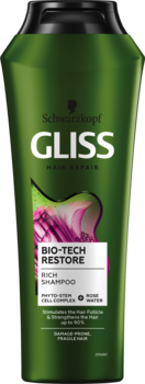 Šampūns Gliss Kur Bio-Tech Restore 250ml