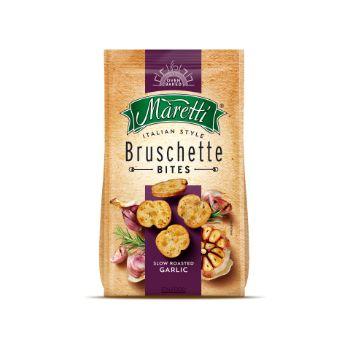 Sausmaizītes Bruschette ceptas ar grauzdētu ķiploku garšu 70