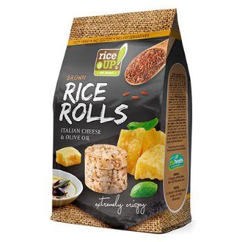 Galetes čipsi brūno rīsu ar Itāļu sieru un olīveļļu mini 50g