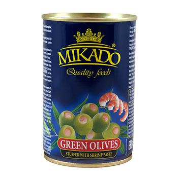 Olīvas zaļās ar garnelēm 280ml