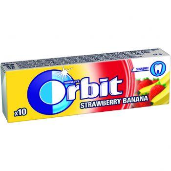 Košļ.gumija Orbit Strawberry