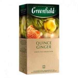 Tēja Greenfield zaļā Quince Ginger 25gbx2g