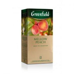 Tēja Greenfield zaļā Mellow Peach 25gbx1.8g
