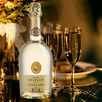 Dzirkstošais vīns Casa Charlize Cuvee Ore Spumante 0.75l