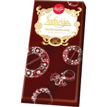 Šokolāde Lukss Latvija 100g
