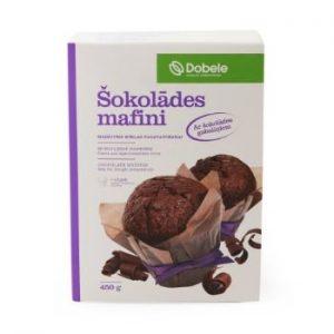 Mafini šokolādes Dobele 450g