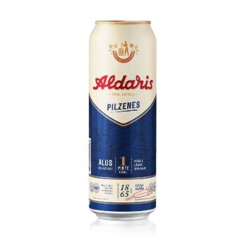 Alus Aldaris Pilzenes 4.2% 0.568l can