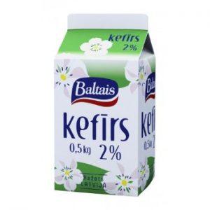 Kefīrs Tukums 2% 0.5l