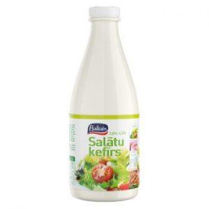 Kefīrs salātu Tukums 4.3% pudele 1l