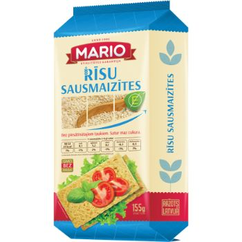 Sausmaizītes rīsu Mario 155g
