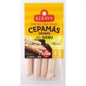 Cepamdesas ar sieru 400g