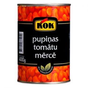 Pupas tomātu mērcē Kok 400g/240g
