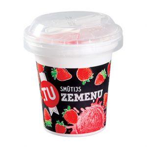 Saldējums sorberts zemeņu smūtijs Too Food 150ml/100g