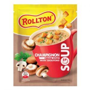 Zupa Rollton ar šampinjonu garšu un grauzdiņiem 15.5g