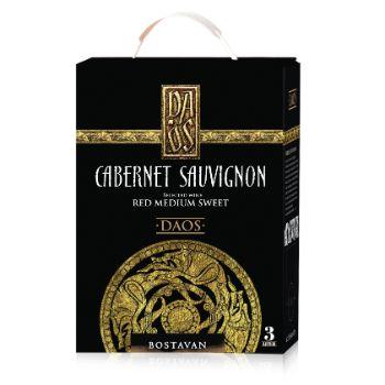 Vīns Daos Cabarnet Sauvignon medium sweet BIB 12.5% 3l