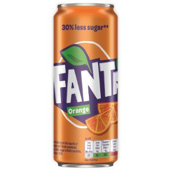 Limonāde Fanta 0.33l can
