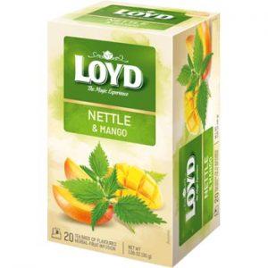 Tēja Loyd Herbal nātru-mango 20x30g