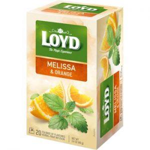 Tēja Loyd Herbal melisas-apelsīnu 20x40g