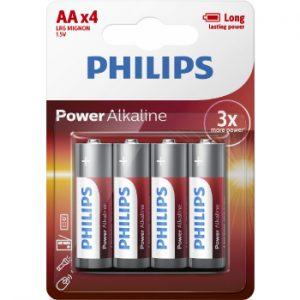 Baterija Philips AA 4gb