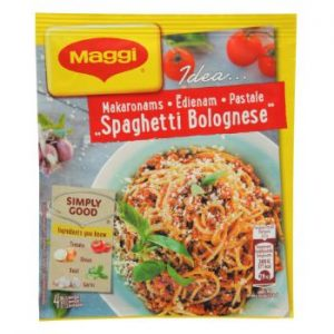 Garšviela Maggi Ideja Spagetti Bolognese 47g