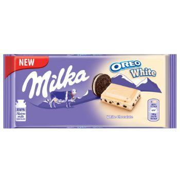 Šokolāde Milka Oreo white cookies 100g