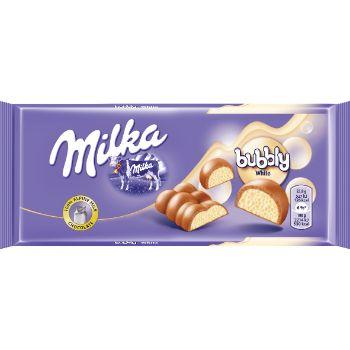 Šokolāde Milka bubbly white 95g