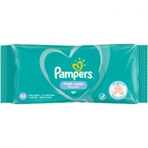 Salvetes mitrās Pampers Baby Fresh Clean 52gb