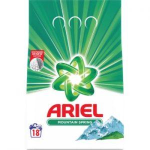 Veļas pulveris Ariel Mountain Spring 1.35kg