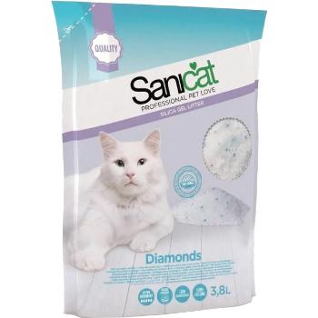 Smiltis kaķiem Sanicat silikona 3.8l