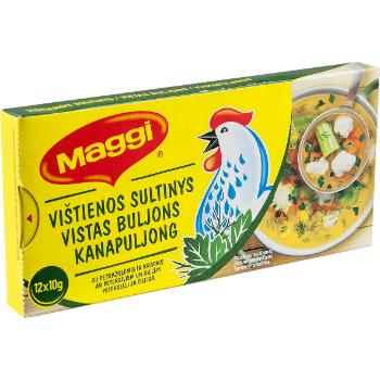 Buljons Maggi vistas ar dillēm