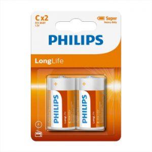 Baterija Philips C Longlife 2gb