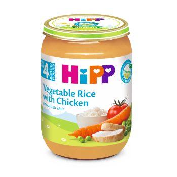 Pārtika bērniem Hipp vistas gaļa 190g