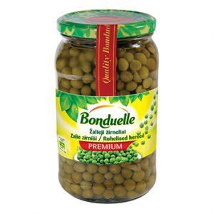 Zirņi zaļie Bonduelle 660g/465g