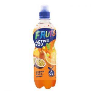 Dzēriens Fruts burkānu-tropisko augļu 0.5l
