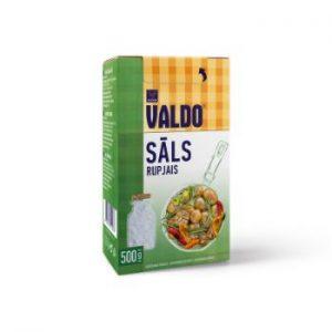 Sāls rupjā Valdo kārbā 500g
