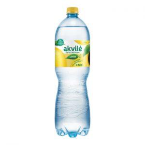 Minerālūdens Akvile ar citrona garšu viegli gāzēts 1.5l