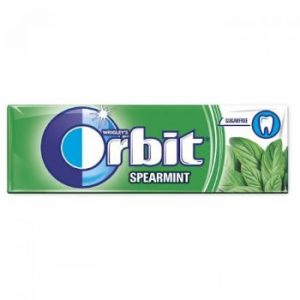 Košļ.gumija Orbit spearmint 14g